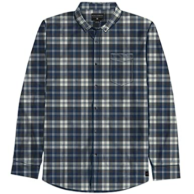 808645e1f Image Unavailable. Image not available for. Color: Billabong Boys Roasted  STN Long Sleeve Flannel Shirt ...