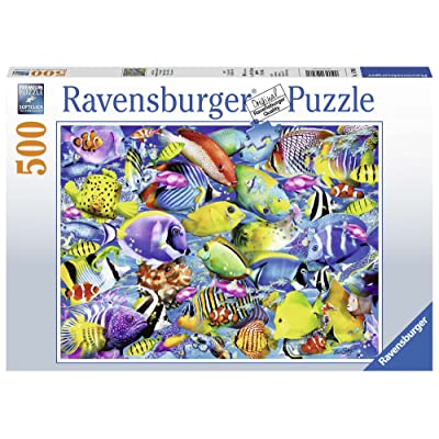 Ravensburger 14796 Tropical Traffic Jigsaw Puzzle (500 Piece): Toys & Games