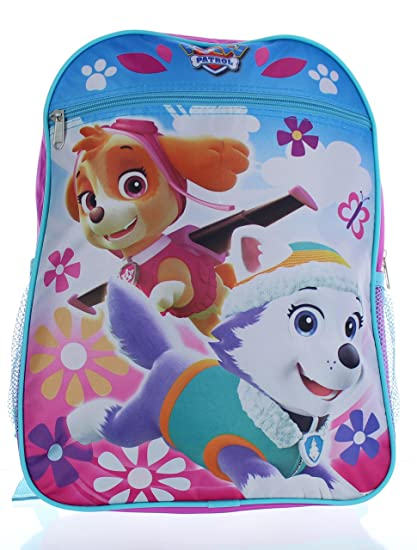 fdf0381ff416 Image Unavailable. Image not available for. Color  Nickelodeon - Paw Patrol  Girls Pink 15 School Backpack ...