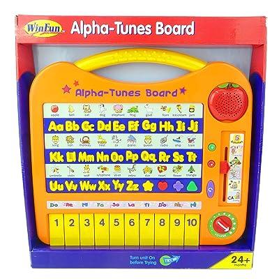 Alpha-Tunes Board - Apprentissage amusant, clavier musical et jeux stimulants