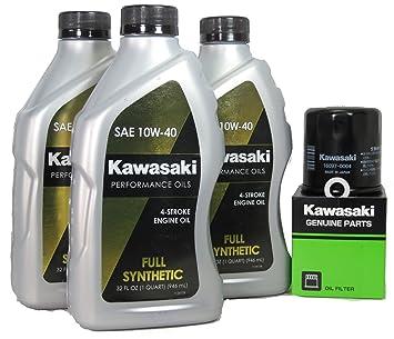 Amazon.com: 2012 Kawsaki NINJA 650 Full Synthetic Oil Change ...