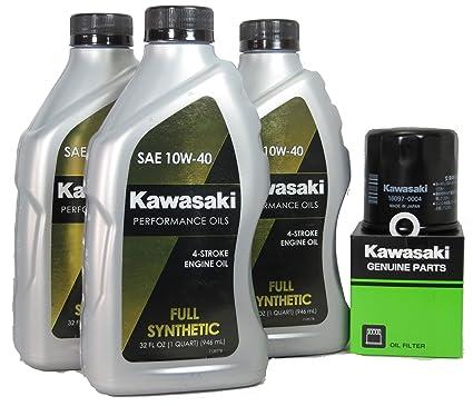 Amazoncom 2013 Kawsaki Ninja 300 Full Synthetic Oil Change Kit