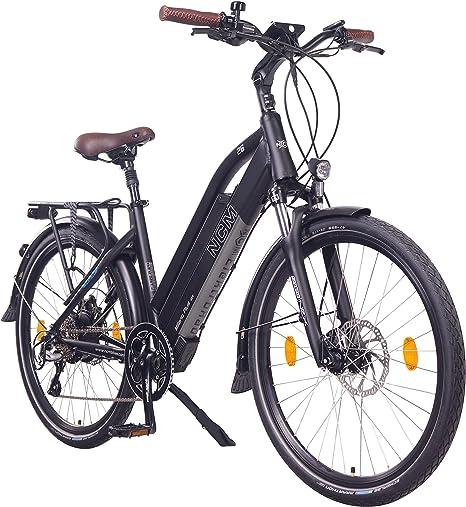 NCM Milano Plus Bicicleta eléctrica de Trekking, 250W, Batería 48V 16Ah • 768Wh (26