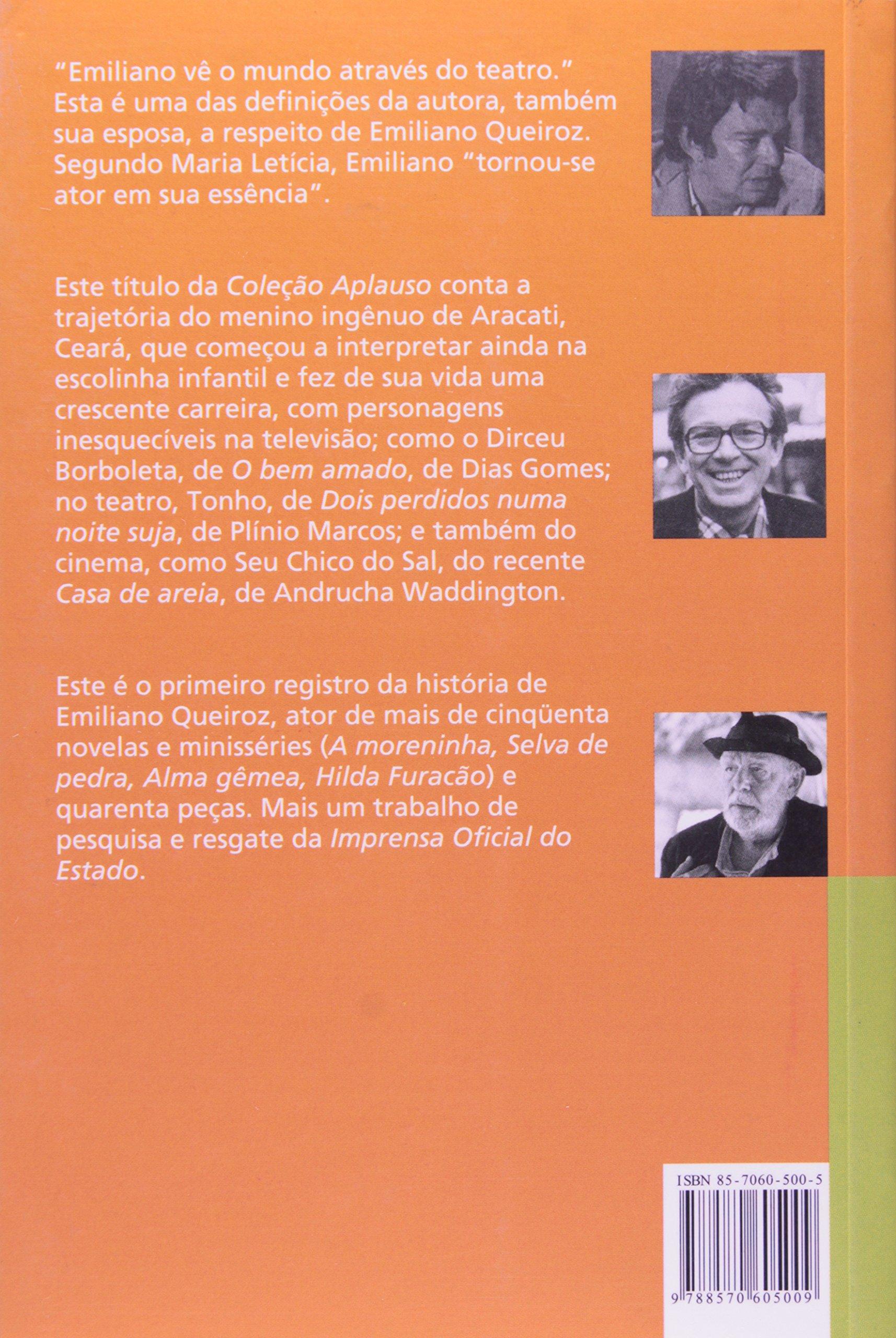 Emiliano Queiroz Na Sobremesa Da Vida Leticia Maria 9788570605009 Amazon Com Books