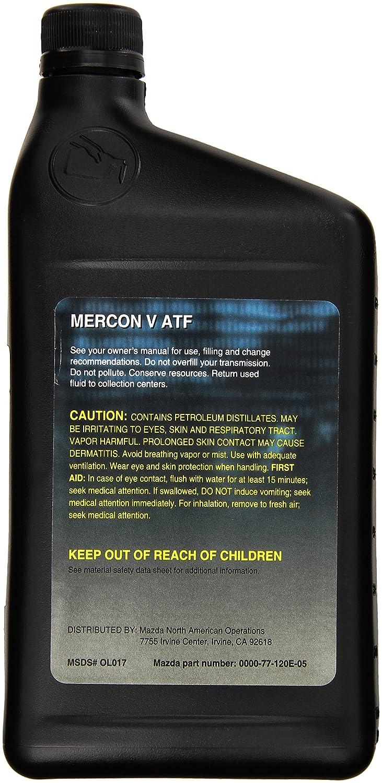 Genuine Mazda Fluid (0000-77-120E-05) MERCON-V Automatic