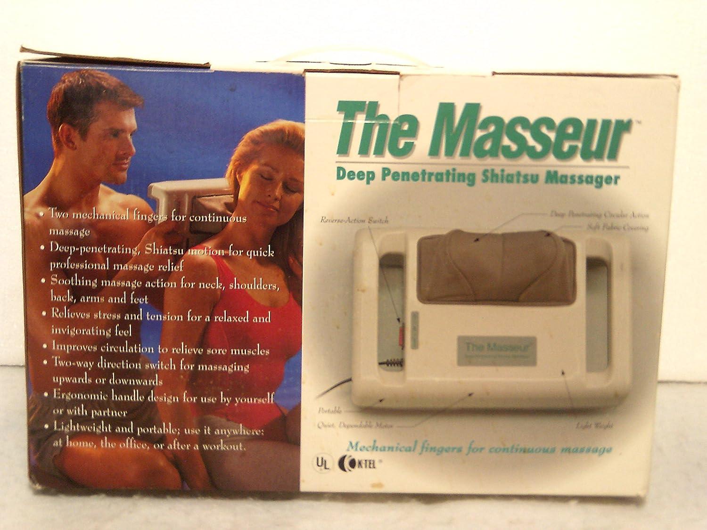 Amazon the masseur deep penetrating shiatsu massager health amazon the masseur deep penetrating shiatsu massager health personal care solutioingenieria Images