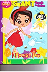 Flowerland Fairies Giant Book to Color ~ Flower Fun Paperback