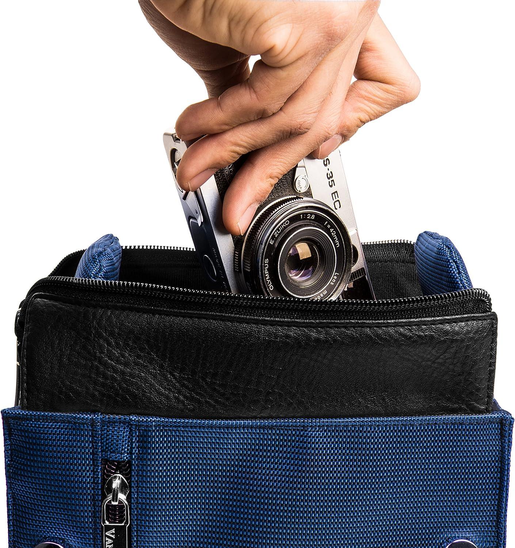 S8600. vhbw Pochette Sacoche Noir pour cam/éra Fujifilm Finepix S4800