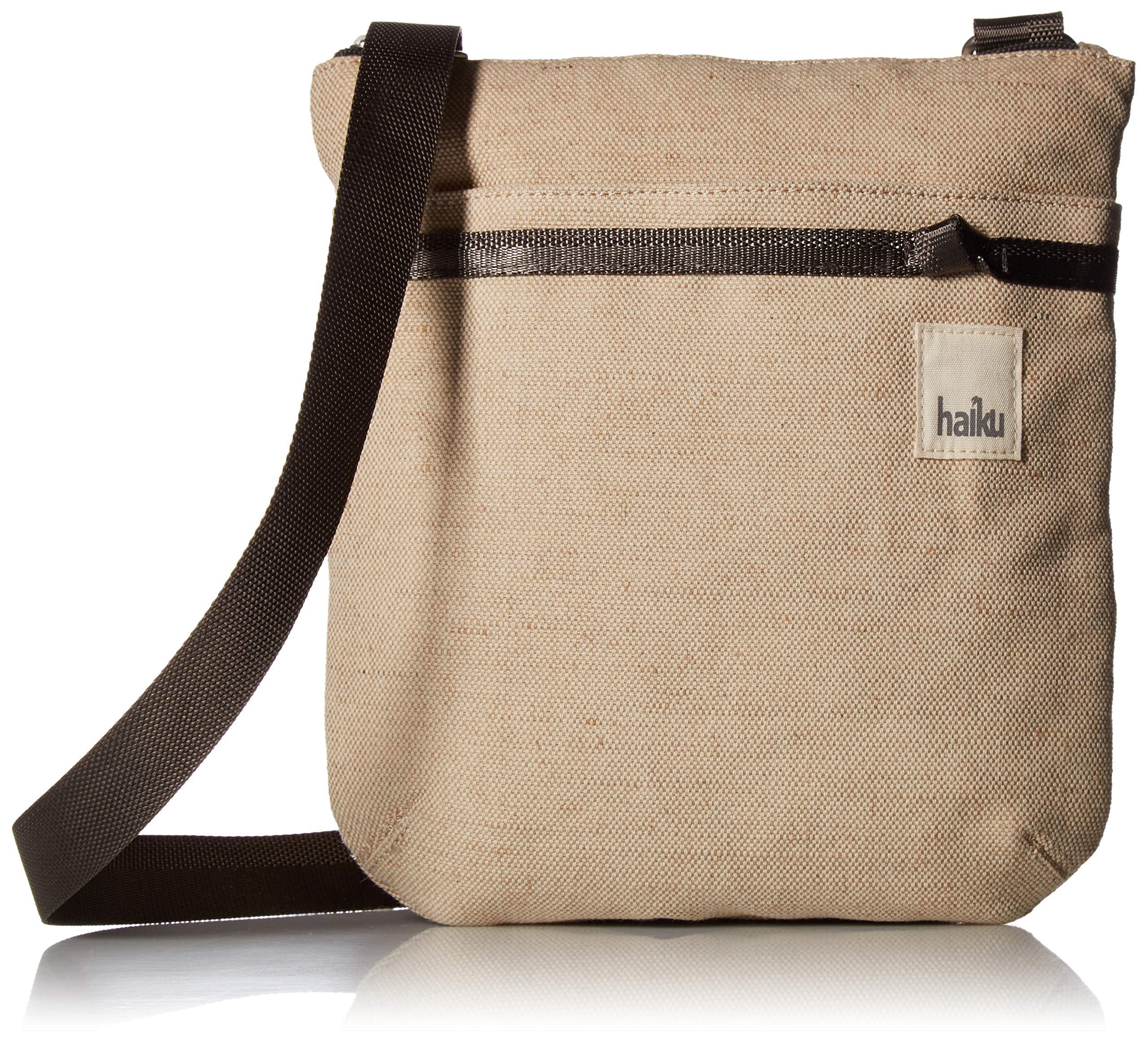 Haiku Revel RFID Crossbody Bag, Hemp Cotton