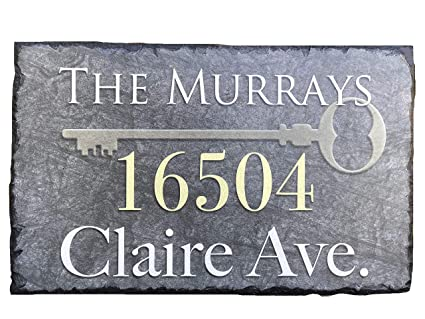 Wondrous Sassy Squirrel Beautifully Handcrafted And Customizable Slate Home Address Plaque 12X8 Or 16X10 Personalized House Sign With And Mounting Download Free Architecture Designs Boapuretrmadebymaigaardcom