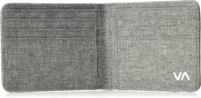 RVCA Mens Leeward Bi-Fold Wallet