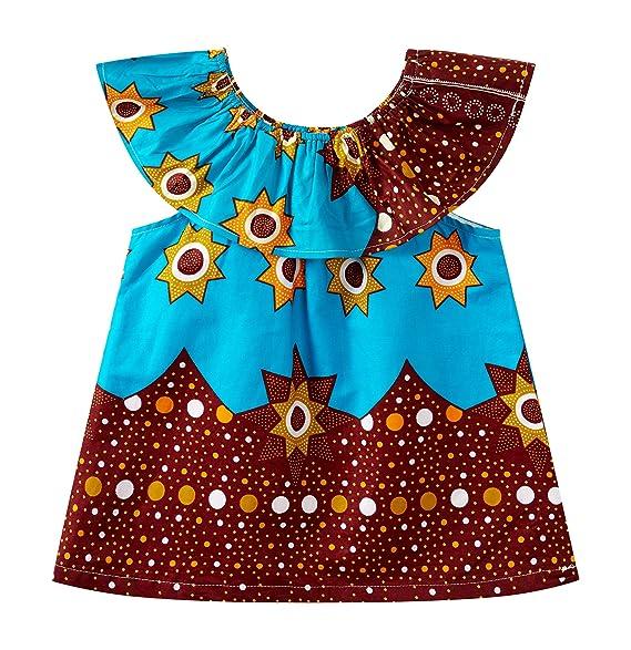 Amazon.com: Vestido Dashiki con hombros descubiertos. Traje ...