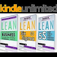 LEAN: Lean Bible - Six Sigma & 5S - 3 Manuscripts + 1 BONUS BOOK (Lean Thinking, Lean Production, Lean Manufacturing, Lean Startup, Kaizen)