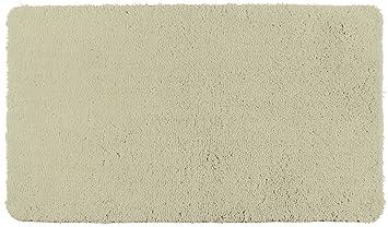 Wenko Badteppich Belize Sand Badematte Sicher Flauschig Fusselfrei Polyester Beige 120 X 70 X 01 Cm