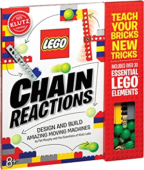 Klutz Over 30 Essential Lego Chain Reactions Craft Kit