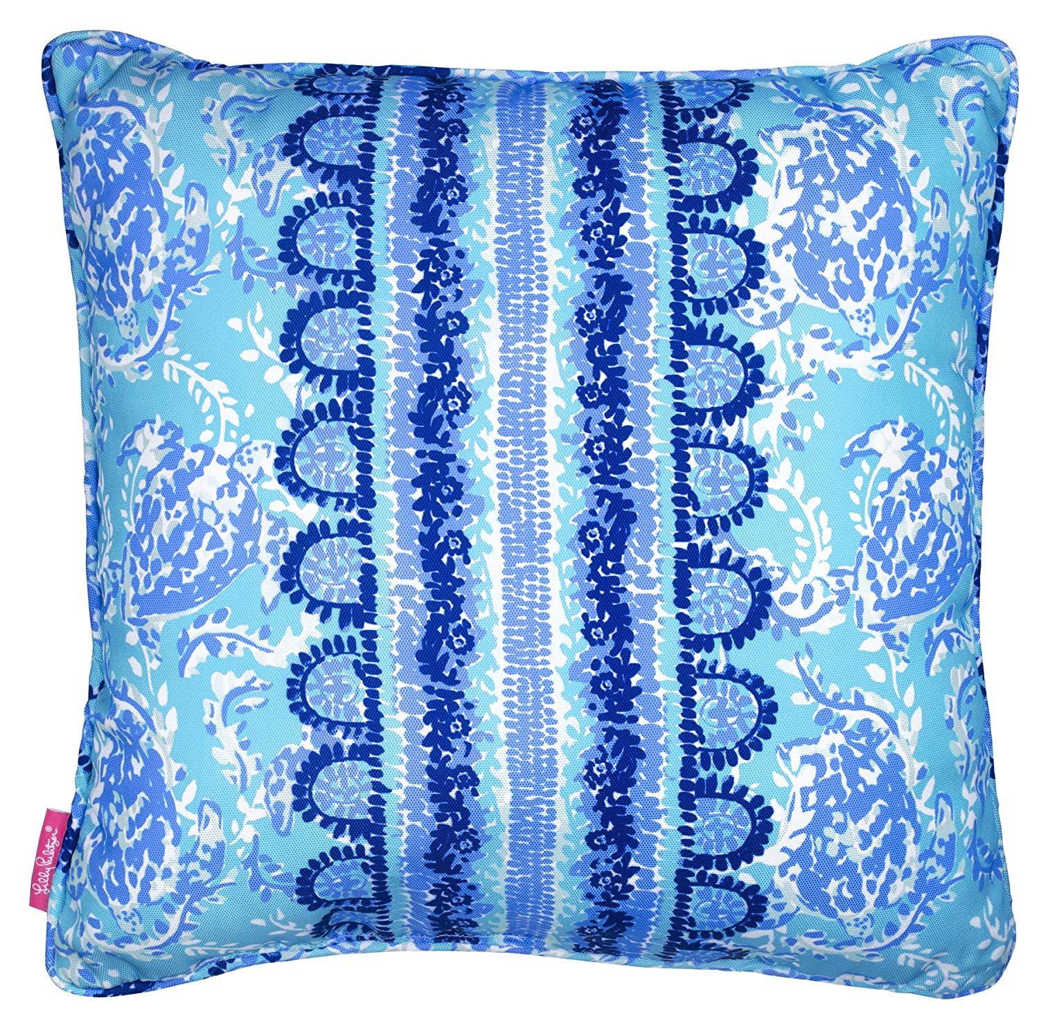 c8ce7df3e214f9 Amazon.com : Lilly Pulitzer Indoor/Outdoor Large Decorative Pillow, Turtley  Awesome : Garden & Outdoor