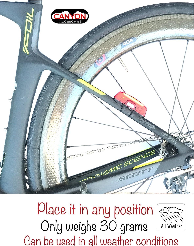 Canyon Accessories - Luz Trasera para Bicicleta con Cable USB ...