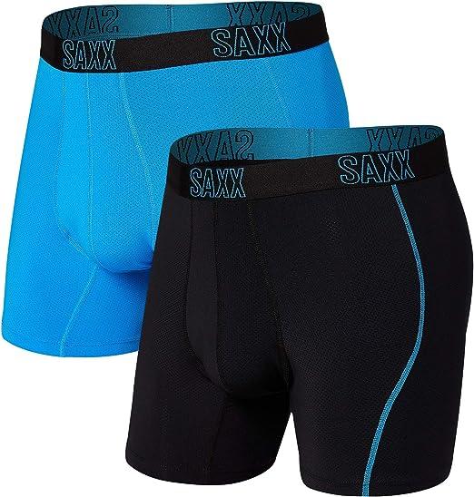 Boxer Briefs Platinum Underwear Boxer Briefs avec Fly et Built-in Ballpark Pouch Support Underwear SAXX Underwear Co