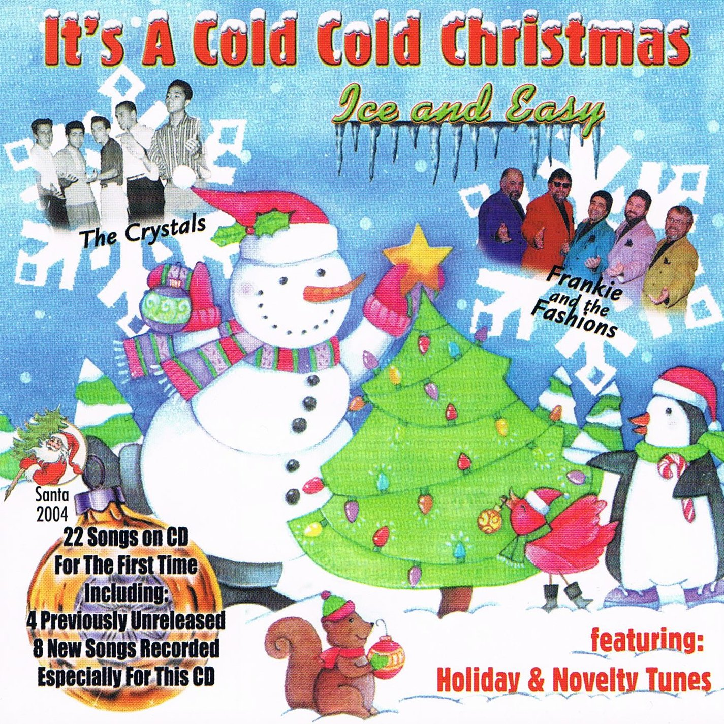 Amazon.com: It\'s A Cold, Cold Christmas: Ice And Easy (Doo Wop ...