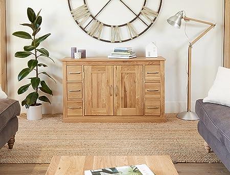 image baumhaus mobel. Baumhaus Mobel Oak Six Drawer Sideboard Image