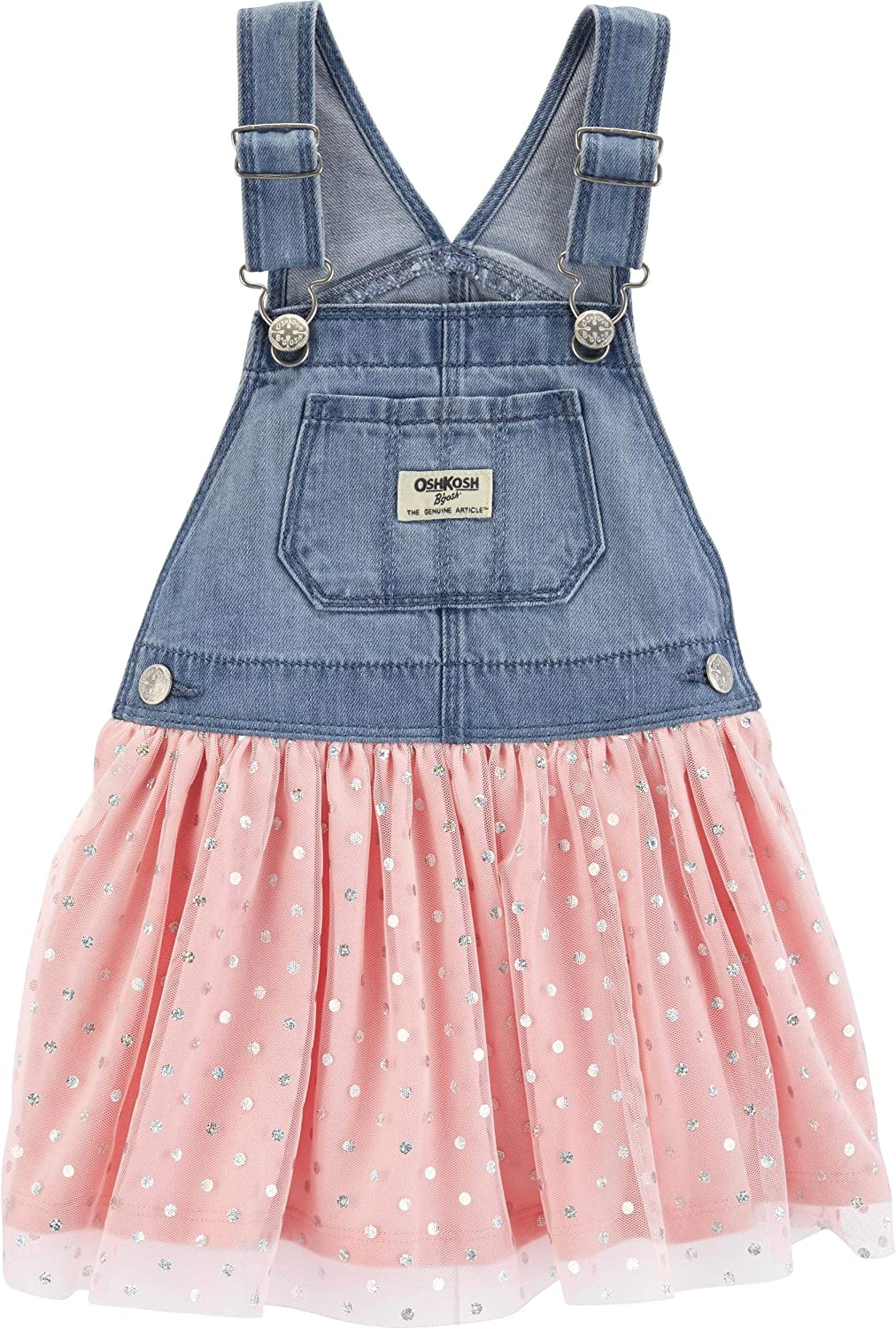 OshKosh B'Gosh Baby Girls' World's Best Overalls