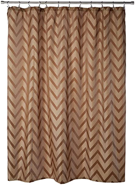 Image Unavailable Not Available For Color Saturday Knight Chevron Fabric Shower Curtain