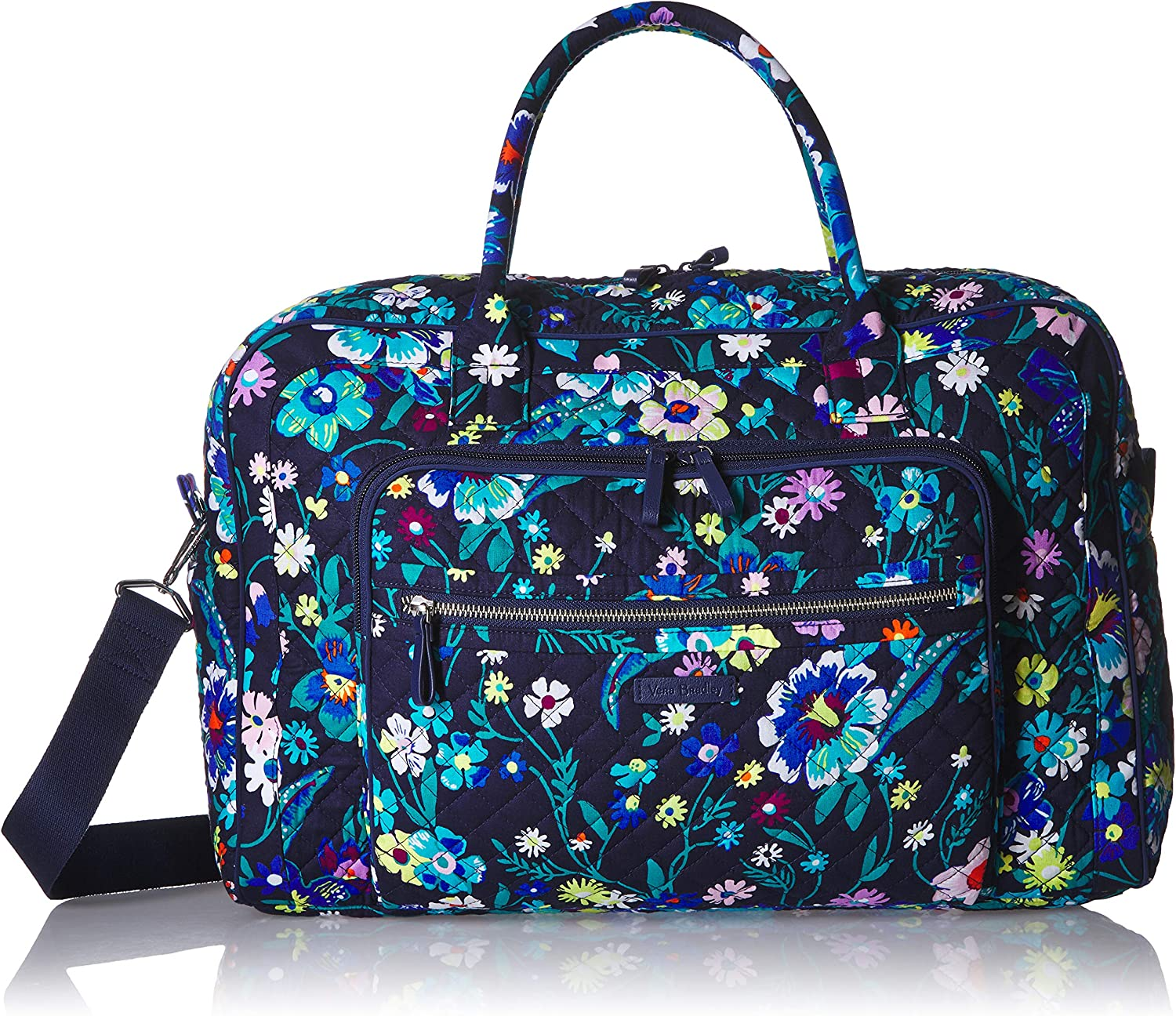 Vera Bradley Women's Signature Cotton Weekender Travel Bag