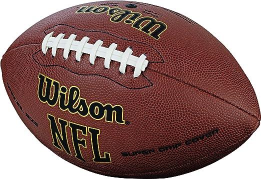Wilson NFL Super Grip - Balón de fútbol Americano, Color marrón ...