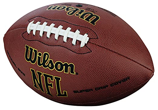 faba1830e Bola de Futebol Americano Wilson NFL Super Grip  Amazon.com.br  Esportes e  Aventura