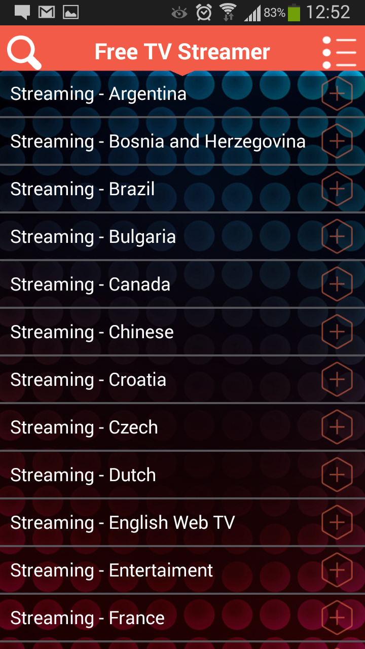 Amazon com: Free TV Streamer: Appstore for Android