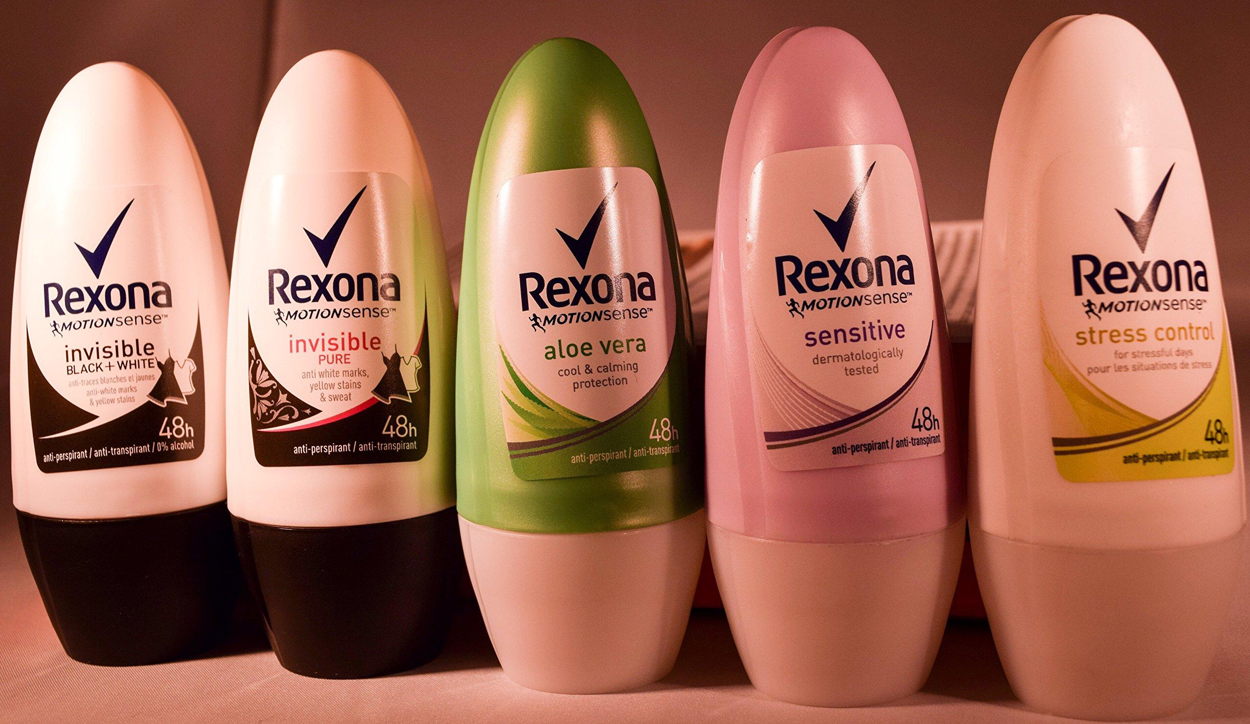 Rexona Women Cotton 48h Anti Perspirant Deodorant Roll On Men Woman Body For Anit Transpirant