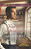 From Boss to Bridegroom (Smoky Mountain Matches Book 6)