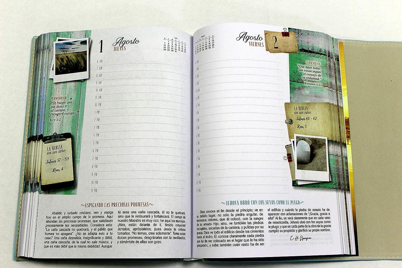 Agenda 2019 Lecturas Matutinas estilo vintage piel italiana ...