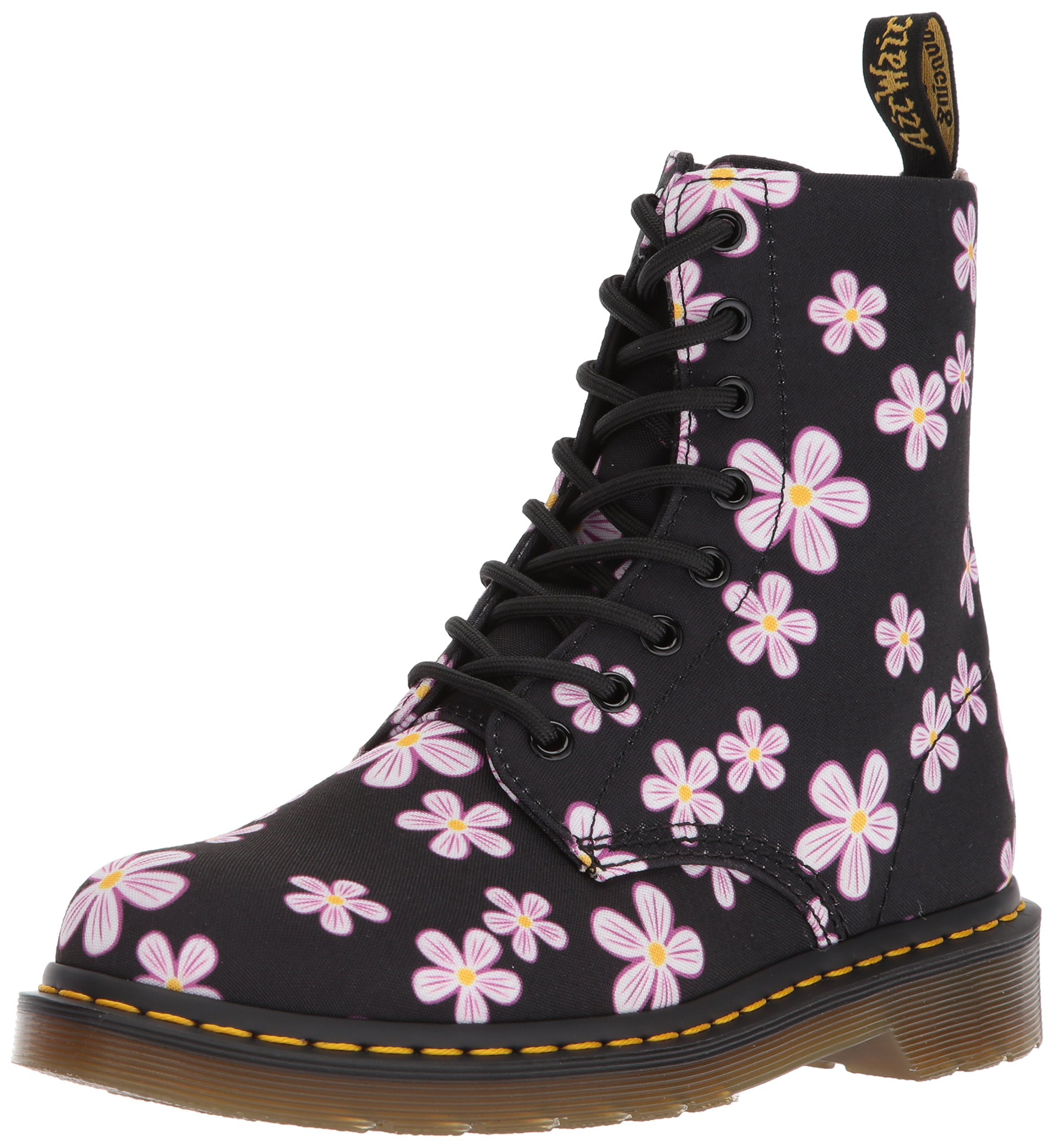 Dr. Martens Women's Page,black meadow flowers,3 M UK (5 US)