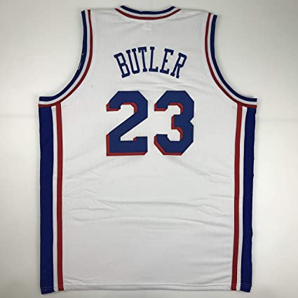 675b5c43fa7 Unsigned Jimmy Butler Philadelphia White Custom Stitched Basketball Jersey  Size Men's XL New No Brands/