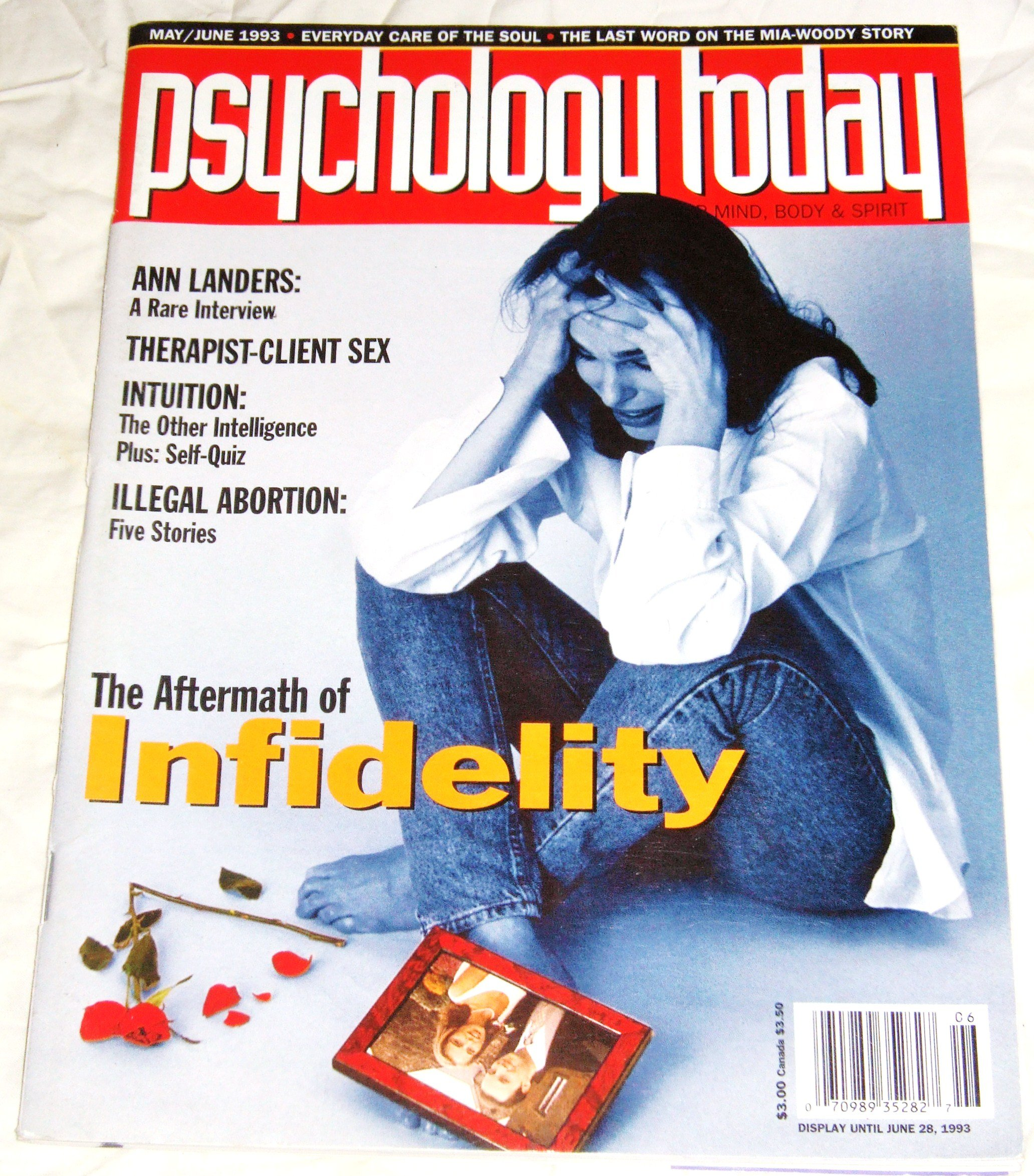 Psychology Today Magazine May/June 1993 (Volume 26, Number 3