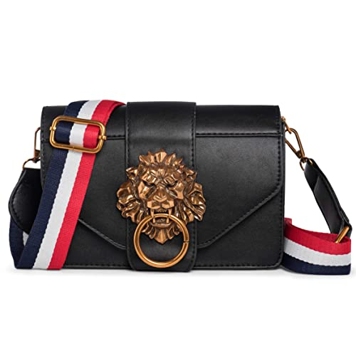 a247e22f42 Womens Shoulder Lion Fashion PU Leather Handbag for Women