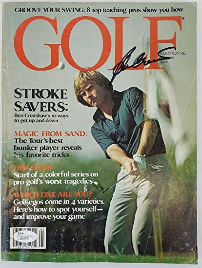 d6064e23d14 Ben Crenshaw Authentic Signed 1980 Golf Magazine Autographed  Q10886 - JSA  Certified - Autographed Golf Magazines at Amazon s Sports Collectibles Store