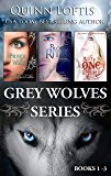 The Grey Wolves Series Collection Books 1-3: Prince of Wolves, Blood Rites, Just One Drop
