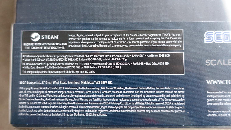 TOTAL WAR WARHAMMER 2 SERPENT GOD EDITION: Amazon co uk: PC