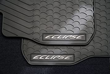 Amazon 2006 2012 mitsubishi eclipse and eclipse spyder all 2006 2012 mitsubishi eclipse and eclipse spyder all weather floor mats quotfront onlyquot sciox Gallery