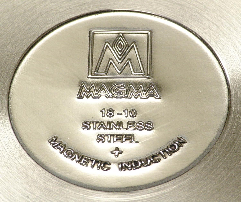 MAGMA 10 Piezas Gourmet Nesting Juego de Cocina de inducción de ...