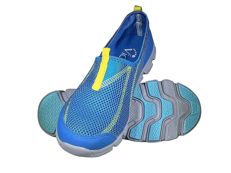 b86308d54eb Viakix Womens Water Shoes - Comfortable Stylish Mesh Aqua Sneakers –Swim