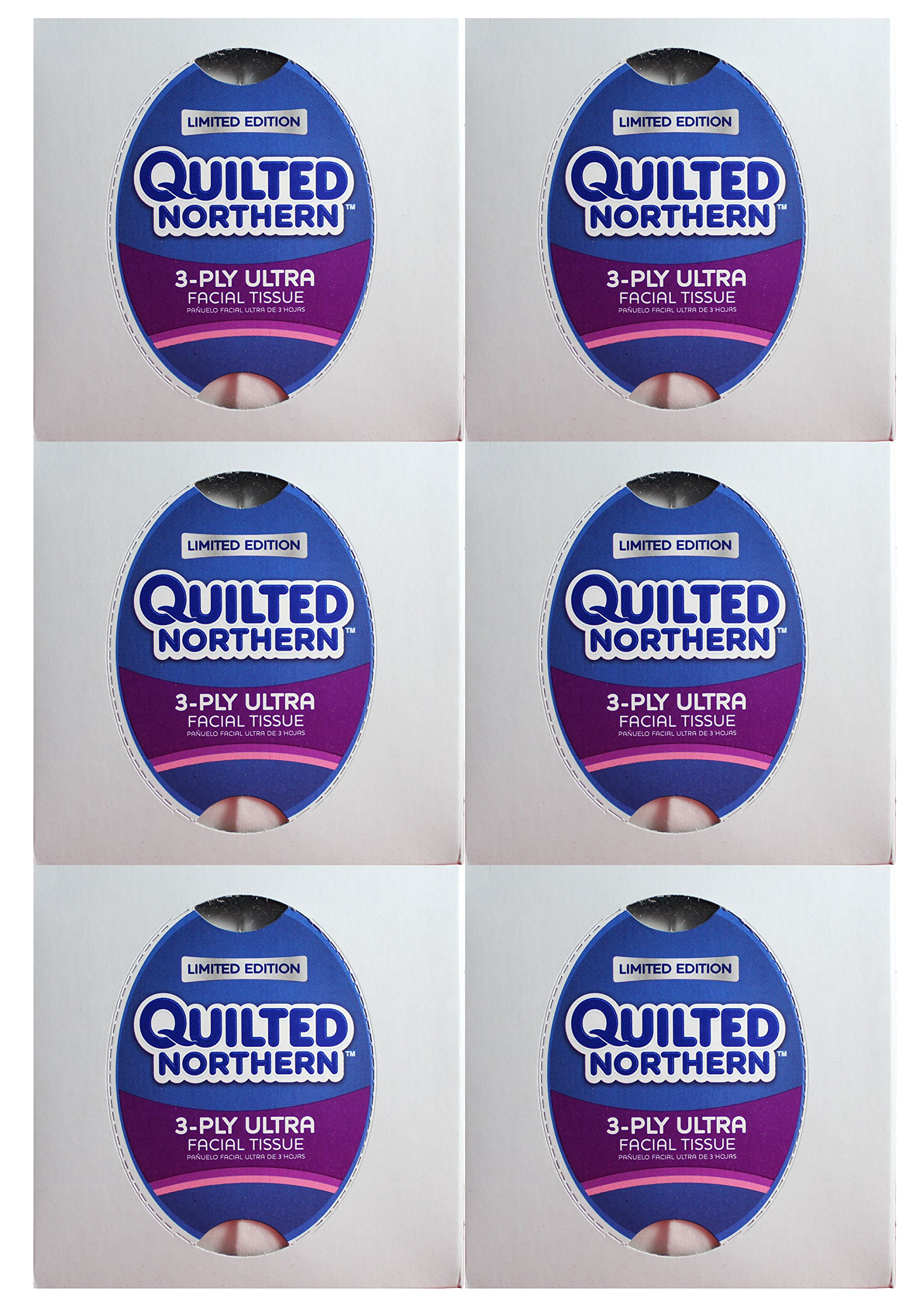 Quilted Northern Ultra Facial Tissue Cube (6 Boxes)