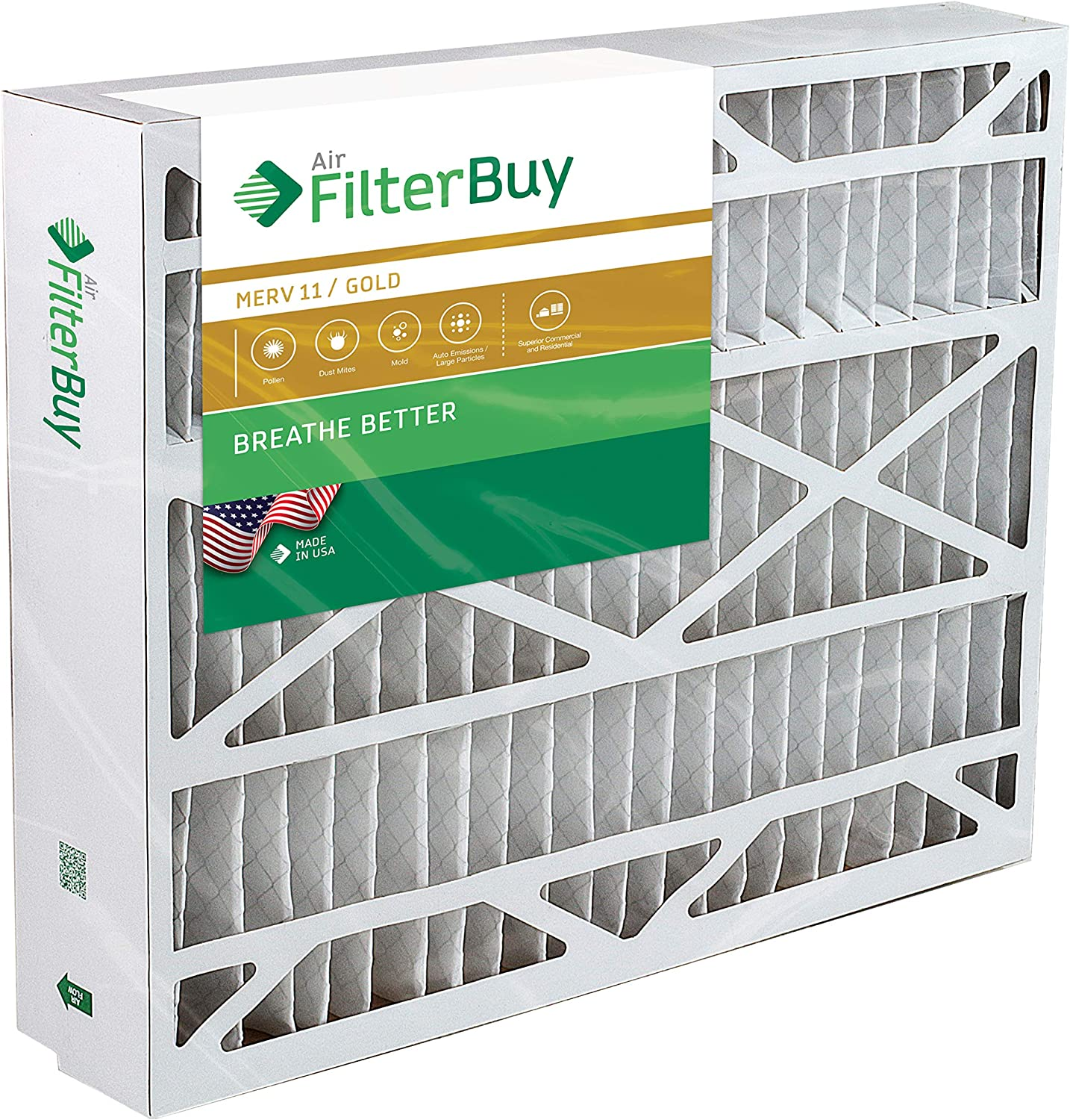 . Merv 11 AFB Gold 21x27x5 Trane Perfect Fit BAYFTFR21M Aftermarket Furnace Filter//Air Filter 1 Pack
