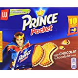 Lu Prince Pocket Goût Chocolat 10 Sachets de 40 g - Lot de 6