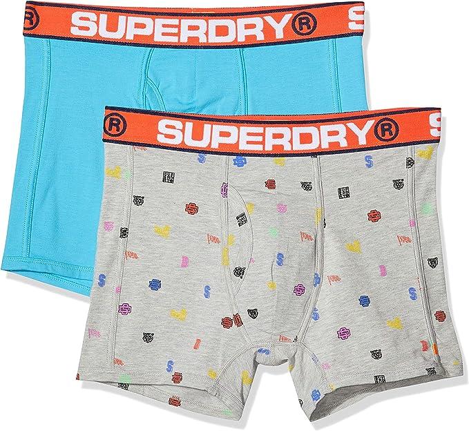 Superdry Sport Boxer Two Pack Hombre: Amazon.es: Ropa y accesorios