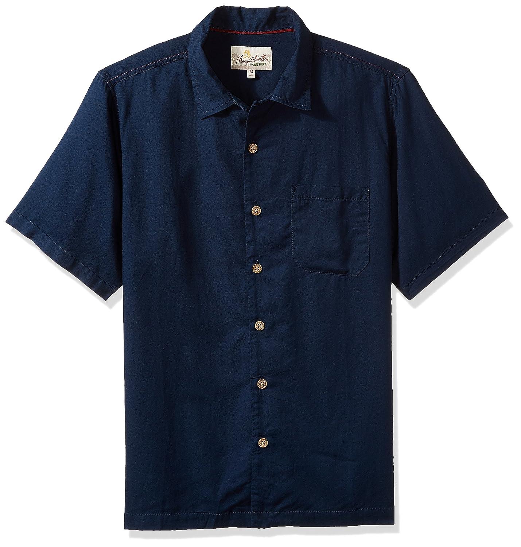 Margaritaville Mens Short Sleeve Back Print BBQ Shirt