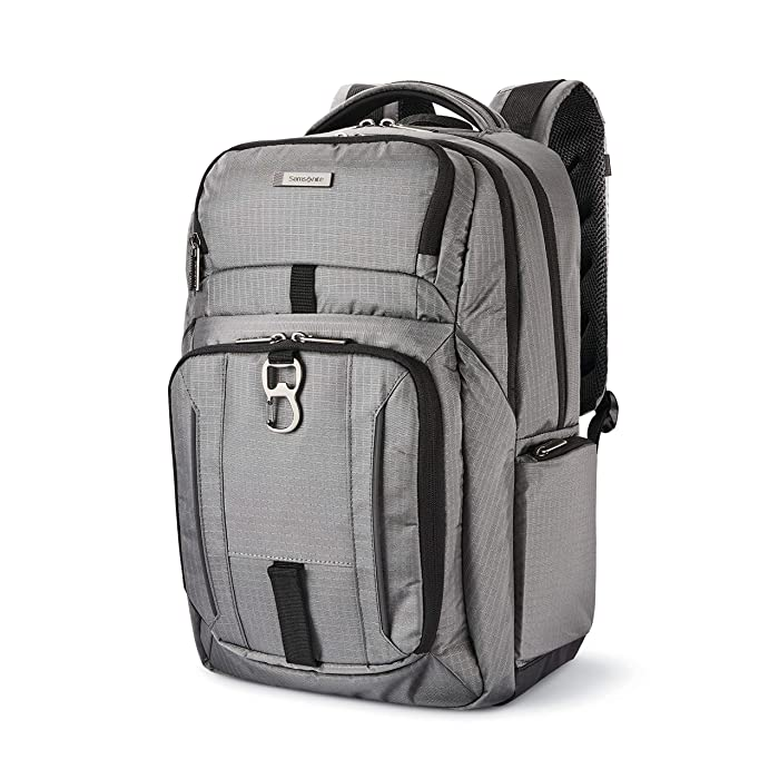 Samsonite Tectonic Lifestyle Easy Rider Business Backpack, Steel Grey, One Size