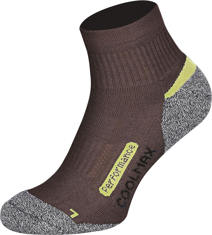 2 paia di calze outdoor hightech con Coolmax Piarini diversi colori